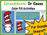 Google Sheets Dr Seuss Mystery Pictures Fill Color - Computer Lab
