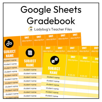 Google Sheets Gradebook Templates