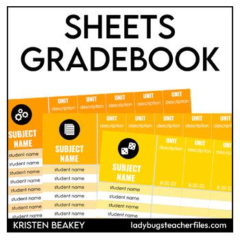 Google Sheets Gradebook Templates