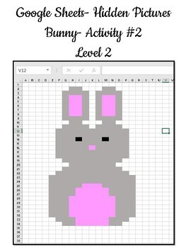 Google Sheets Hidden Pictures Bundle By Elementary Techie Teacher