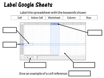 Google Drive Sheets Introduction Lesson Plan