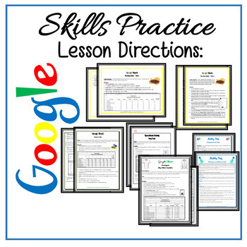Google Sheets Lessons - Intermediate Skills Practice