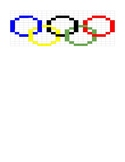 Google Sheets Olympics Fill In #1 - Olympic Rings