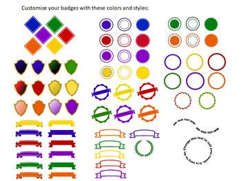 Google Sheets Open Badges