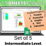 Google Sheets Projects for Grades 3-5