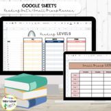 Google Sheets Reading Data Tracker & Small Group Planner