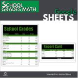 Google Sheets - School Grades Math Lesson