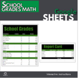 Google Sheets - School Grades Math Lesson