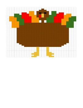 Google Sheets Thanksgiving Fill In #1 and #2