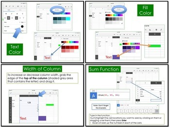 Google Sheets for iPad Lesson