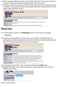 Google Site Templates