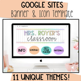Google Sites Banner and Icon Template