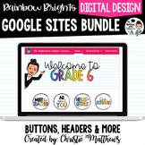 Google Sites Bundle - Headers, Buttons & More (Growing Bundle)