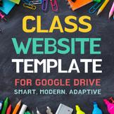 Class Website Template for Google Sites