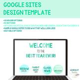 GOOGLE SITES Teacher Website Design Template - Header/Bann