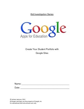 Google Sites - Kid's Investigation for Building Your First Webpage