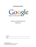 Google Sites - Kid's Investigation for Building Your First