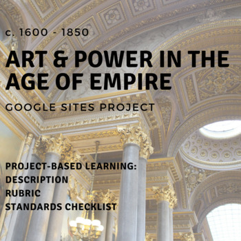 Google Sites Project - Art & Power in the Age of Empire, c. 1600-1850