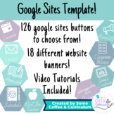 Google Sites Template - Google Sites Buttons and Banners!