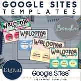 Google Sites Template | Classroom Website | Bundle