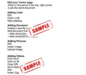 Google Sites- Two Day Professional Development/Lesson Plans with Notes