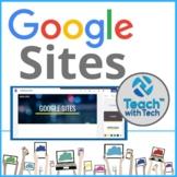 Google Sites Website Builder Lesson Activity
