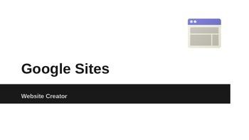 Google Sites Website Creator Powerpoint