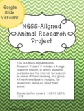 Google Slide E-Learning NGSS-Aligned Animal Project