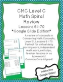 Google Slide Interactive Drag and Drop CMC Level C Lessons