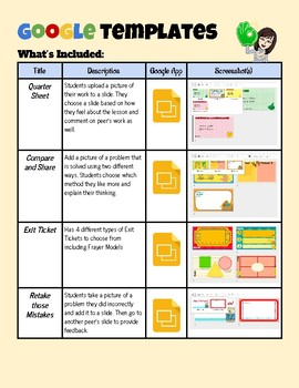 Google Slide Templates