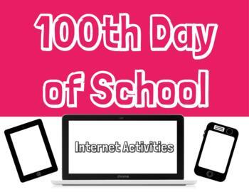 Google Slides - 100th Day of School AcitivIty - NO PREP
