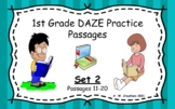 Google Slides 1st Grade DAZE Practice Passages Set 2 #11-2