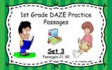 Google Slides 1st Grade DAZE Practice Passages Set 3 #21-3