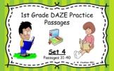 Google Slides 1st Grade DAZE Practice Passages Set 4 #31-4