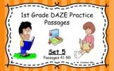 Google Slides 1st Grade DAZE Practice Passages Set 5 #41-5