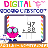 Google Slides: 2 Digit Addition WITH Regrouping   Distance