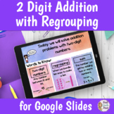 2 Digit Addition with Regrouping Lesson | Distance Learning