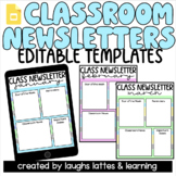 Google Slides   2021 Editable MONTHLY Classroom Newsletter