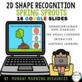 Google Slides 2D Shape Match - Spring Sprout Theme - Dista