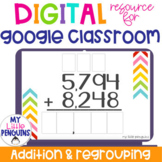 Google Slides: 4 Digit Addition with Regrouping   Distance