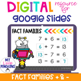 Google Slides: Addition & Subtraction Fact Families   Dist