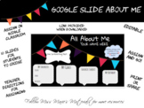 Google Slides-All About Me