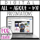 Google Slides All About Me - Back to School