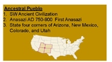 Google Slides-Ancestral Pueblo/Anasazi Google Slide Presentation