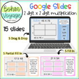 Google Slides Area Model 2 Digit by 2 Digit Multiplication