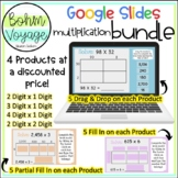 Google Slides Area Model **Bundle**