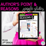 Google Slides Author's Point and Reasons RI2.8