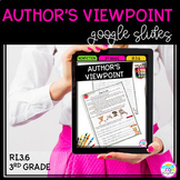 Google Slides Author's Viewpoint in Nonfiction RI3.6