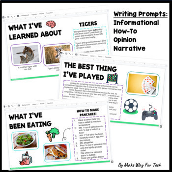 Google BUNDLE All About Me, Graphic Organizers, Growth Mindset, Slideshow