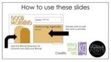 Google Slides Boho Template